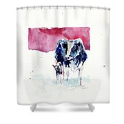 Warm Cuteness Shower Curtain