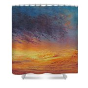 Warm Embrace Shower Curtain