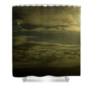 Warm Rhapsody Shower Curtain
