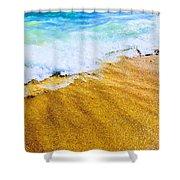 Warm Sand Shower Curtain