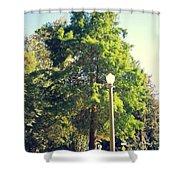Warm Summer  Shower Curtain