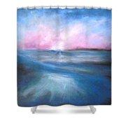 Warm Tides Shower Curtain