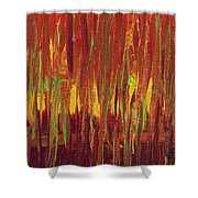 Warm Tones Shower Curtain