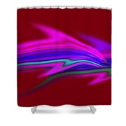 Warm Waters Shower Curtain