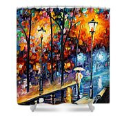 Warm Winter Shower Curtain