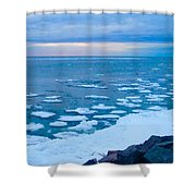 Warming Waters 2 Shower Curtain
