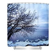 Warming Waters  Shower Curtain