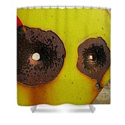 Warning Shot Shower Curtain