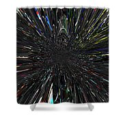 Warp Factor 2 Shower Curtain