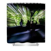 Warp Speed 1 Shower Curtain