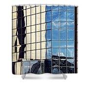 Warped Harbour Bridge Reflection By Kaye Menner Shower Curtain