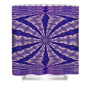 Warped Minds Eye Shower Curtain