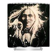 Warrior 1 Shower Curtain
