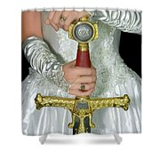 Warrior Bride Of Christ Shower Curtain