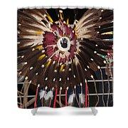 Warrior Feathers Shower Curtain