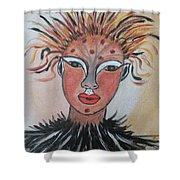 Warrior Woman  #3 Shower Curtain
