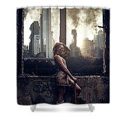 Warriors Come Out To Play Shower Curtain