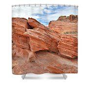 Wash 3 Beehives In Valley Of Fire Shower Curtain