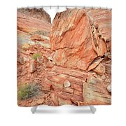 Wash 3 Of Valley Of Fire Shower Curtain