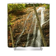 Wash Hollow Falls Nantahala National Forest Nc Shower Curtain