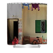 Wash Lane Shower Curtain