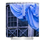 Washday On A Country Porch Shower Curtain