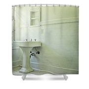 Washed Up Shower Curtain
