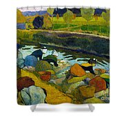 Washerwomen Shower Curtain