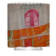 Washing Day Shower Curtain