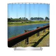 Washington Coast Shower Curtain