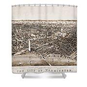 Washington D.c., 1892 Shower Curtain by Granger