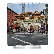 Washington D.c. Chinatown Shower Curtain