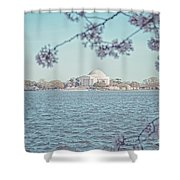 Washington Dc In Spring Shower Curtain
