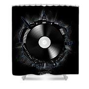 Washington Dc Skyline Vinyl 10 Shower Curtain