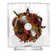 Washington Dc Skyline Vinyl 7 Shower Curtain