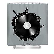 Washington Dc Skyline Vinyl 8 Shower Curtain