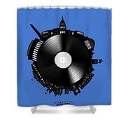 Washington Dc Skyline Vinyl 9 Shower Curtain