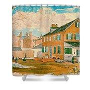 Washington D.c. Square 1874 Shower Curtain