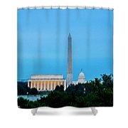 Washington D.c. Shower Curtain