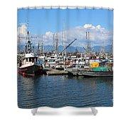 Washington Harbor Shower Curtain