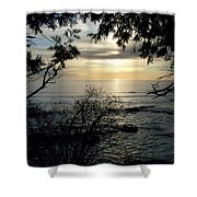 Washington Island Morning 4 Shower Curtain