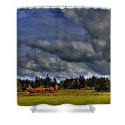 Washington Landscape Shower Curtain