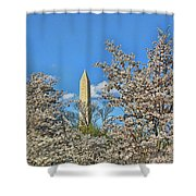 Washington Monument # 11 Shower Curtain