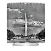 Washington Monument # 12 Shower Curtain