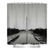 Washington Monument In Washington Dc Shower Curtain