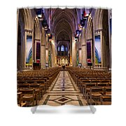 Washington National Cathedral Interior Shower Curtain