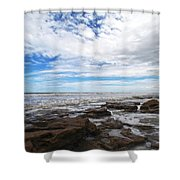 Washington Oaks Garden State Park Shower Curtain