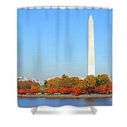 Washington On A Autumn Day Shower Curtain