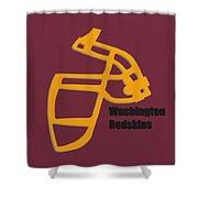 Washington Redskins Retro Shower Curtain