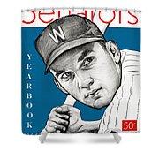 Washington Senatore 1960 Yearbook Shower Curtain